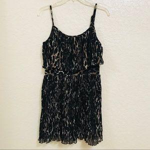 GUESS Pleated Mini Dress